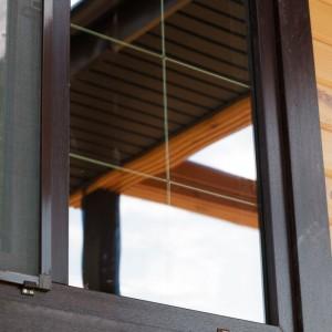 Окна с декоративными шпросами