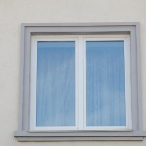 Стандартные белые окна в квартиру