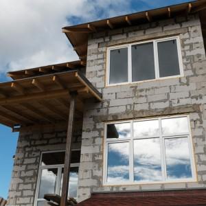 Стандартные белые окна