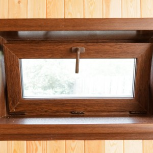 Окно с горизонтальным типом открывания