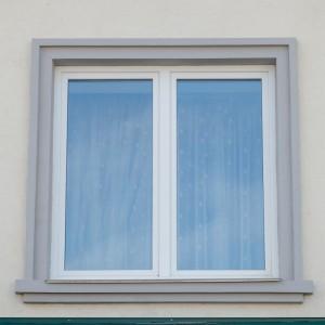 Пластиковое белое окно
