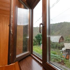 Двусторонняя ламинация окна